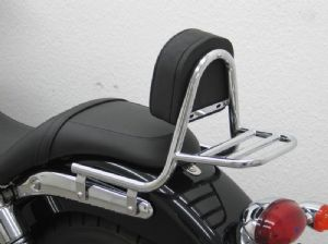 Triumph Speedmaster 865cc: Sissy Bar Made of Chrome Including Pad & luggage Carrier. (986ML2008/15)